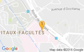 Pour en savoir plus sur l'hôpital Lapeyronie de Montpellier, cliquez sur la carte